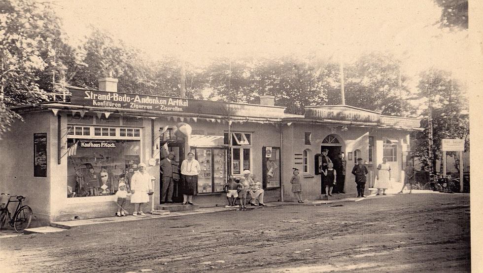 Anfang 30er-Jahre Post-und-Badebüro