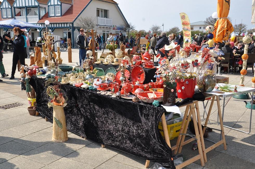 Markt auf dem Haffplatz