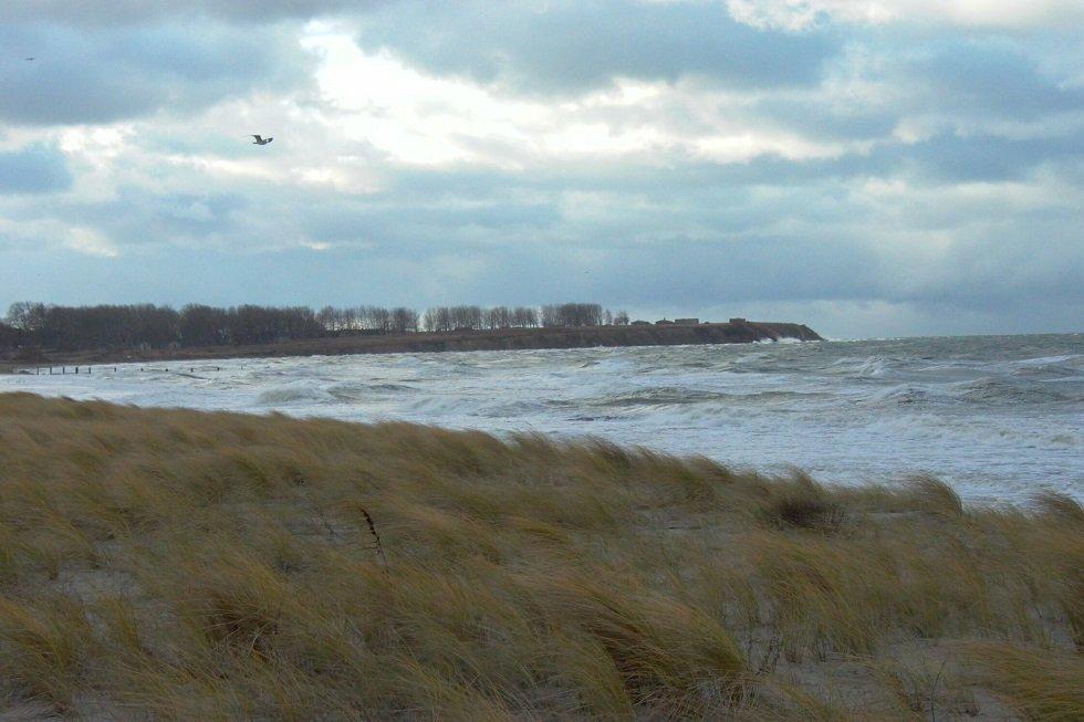Sturm an der Reriker Küste