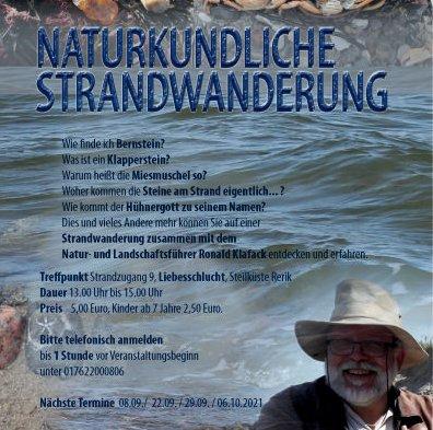 Plakat Standwanderung